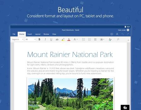 Microsoft Word Preview v16.0.7927.1002