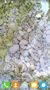 تصویر محیط Water Garden Live Wallpaper v1.66