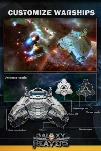 تصویر محیط Galaxy Reavers – Starships RTS v1.2.19 + data