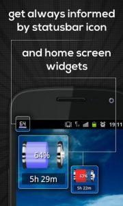تصویر محیط Battery Indicator Pro v2.8.1