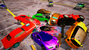 تصویر محیط Derby Destruction Simulator v3.0.6
