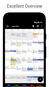 تصویر محیط Business Calendar 2・Agenda, Planner & Organizer v2.41.1