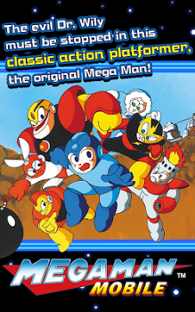 MEGA MAN MOBILE v1.00.00