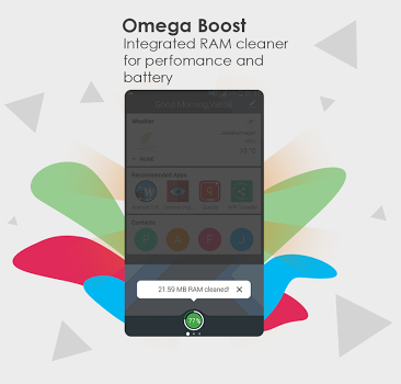 Omega Home Launcher Nougat v2.4