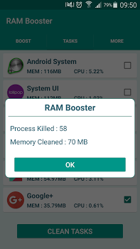 RAM Booster Cache Cleaner Pro v1.0