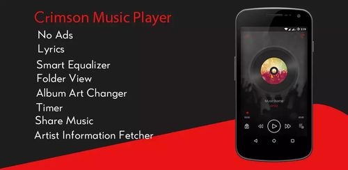 Crimson Music Player v2.3.1