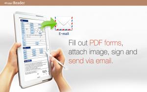 تصویر محیط ezPDF Reader PDF Annotate Form v2.7.0.0