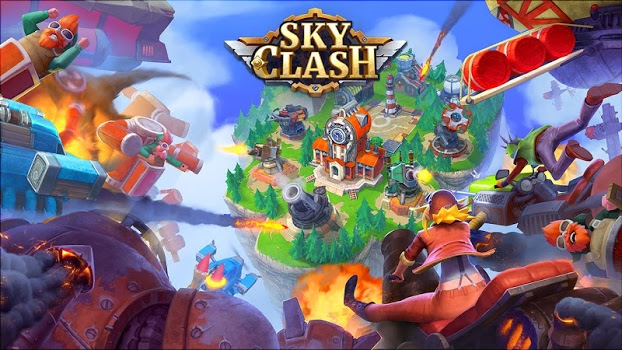 Sky Clash: Lords of Clans 3D v1.40.1610