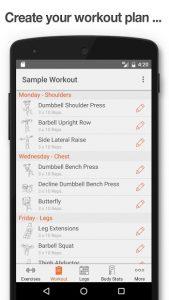 تصویر محیط Fitness Point Pro v2.8.3