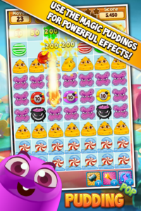 تصویر محیط Pudding Pop – Connect & Splash Free Match 3 Gamee v1.8.7