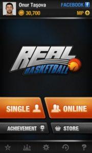 تصویر محیط Real Basketball v2.7.9