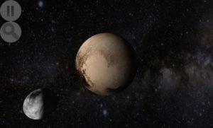 تصویر محیط Planet Finder + v4.6