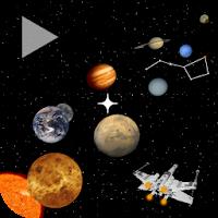نرم افزار قطب نمای کیهانی برای پیدا کردن سیاره های منظومه شمسی آیکون
