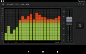 تصویر محیط Music Volume EQ – Equalizer & Booster v4.3