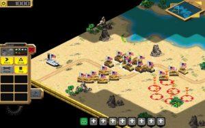 تصویر محیط Desert Stormfront – RTS v1.0.25