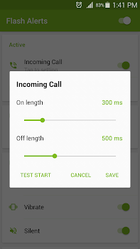 Flash Alerts on Call and SMS v2.9