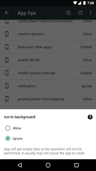 App Ops – Permission manager v2.6.3