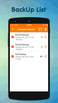 Contacts Backup & Restore PRO v3.4