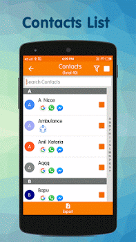 Contacts Backup & Restore PRO v3.3