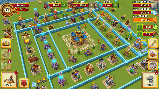 Dragon Lords 3D strategy v5.6.80