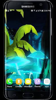 Mushroom Firefly Jungle LWP v1.0.1