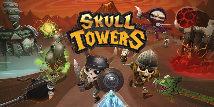 Skull Towers: Castle Defense Game: Best Archery TD v1.0.5