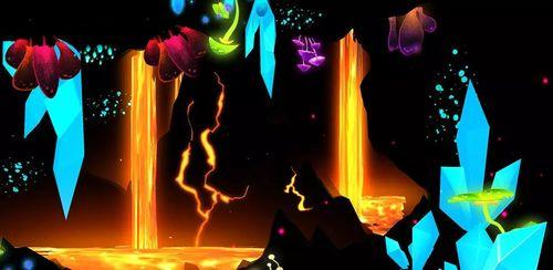 Crystal Lava Cave 3D LWP v1.0.2