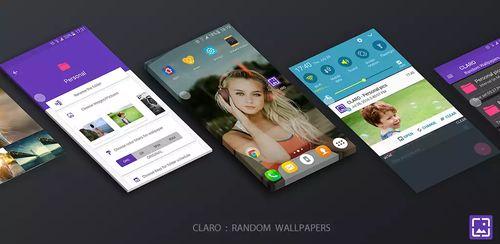 CLARO Random Wallpaper Changer Full v2.0