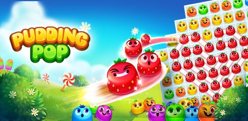 Pudding Pop – Connect & Splash Free Match 3 Gamee v1.8.7