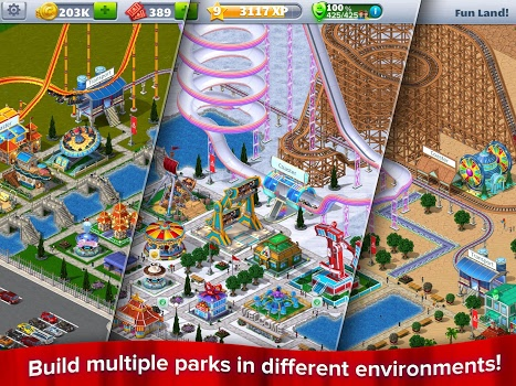 RollerCoaster Tycoon® ۴ Mobile v1.11.2 + data