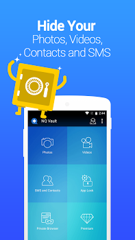 Vault-Hide SMS,Pics & Videos,App Lock,Cloud backup v6.7.16.22