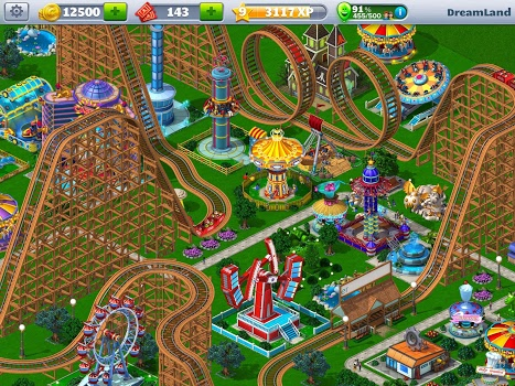 RollerCoaster Tycoon® ۴ Mobile v1.13.0 + data