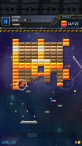 تصویر محیط Brick Breaker Star: Space King v2.1