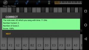 تصویر محیط Voice Training Pro v97 fix