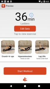تصویر محیط You Are Your Own Gym by Mark Lauren v4.06 + data