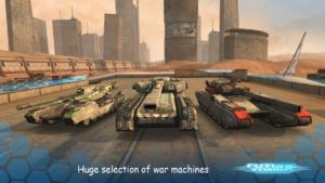 تصویر محیط Future Tanks: Action Army Tank Games v3.60.4 + data