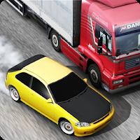 بازی رانندگی در ترافیک آیکون