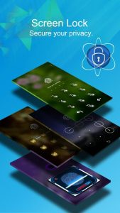 تصویر محیط CM Locker – Security Lockscreen v4.9.6