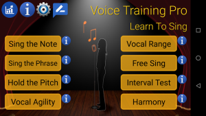 تصویر محیط Voice Training Pro v123 fix