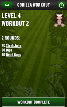 Gorilla Workout: Strength Plan v18.4.6