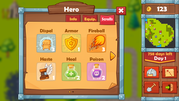 Heroes 2 : The Undead King v1.0