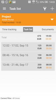 Mobile Worker – Time tracker FULL v6.2.7