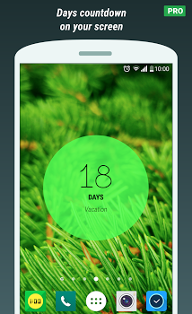 Touch Circle Clock Wallpaper PRO v1.3.0