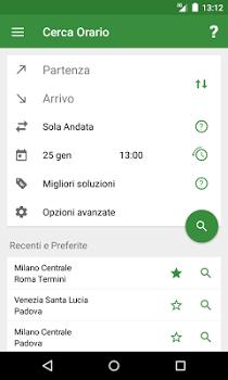 Train Timetable Italy v8.9.1
