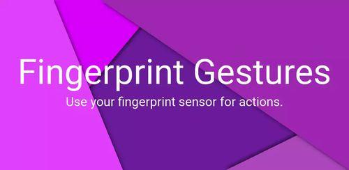 Fingerprint Gestures v1.7
