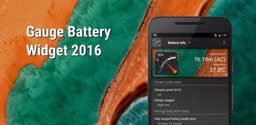 Gauge Battery Widget 2017 v5.1.0