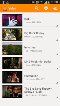 VLC for Android v2.1.2