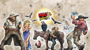 تصویر محیط Mad Bullets: Cowboy Shooter v2.1.8