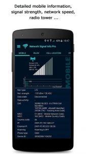 تصویر محیط Network Signal Info Pro v5.60.04