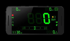 تصویر محیط DigiHUD Pro Speedometer v1.1.15